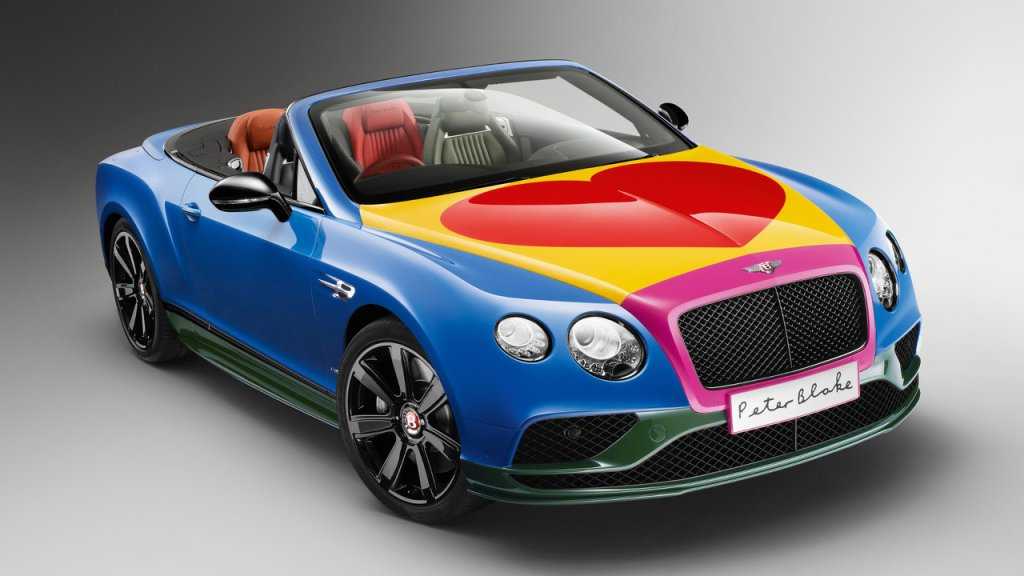 Bentley Continental GT V8 S By Peter Blake