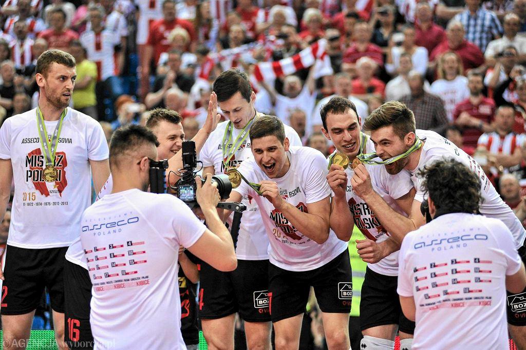 Asseco Resovia mistrzem Polski w sezonie 2014/15.