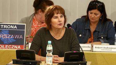 Posiedzenie komisji weryfikacyjnej. Na zdjęciu Magda Brzeska.