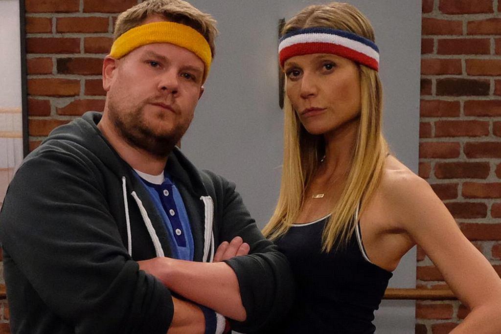 James Corden i Gwyneth Paltrow