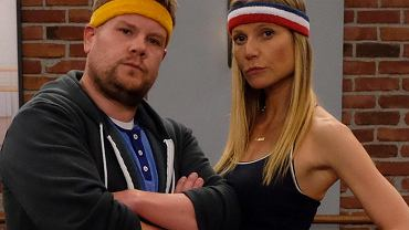 James Corden i Gwyneth Paltrow