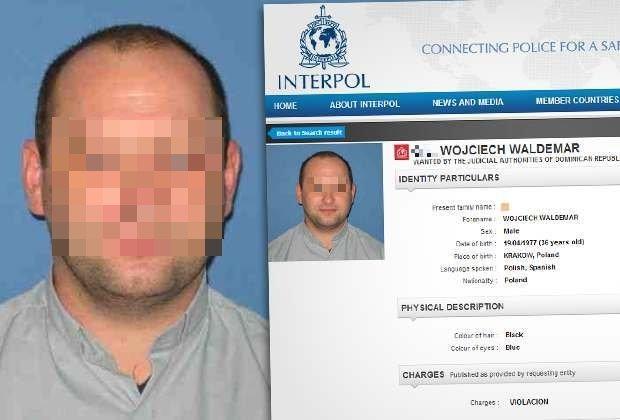 ks. Wojciech G. był poszukiwany listem gończym przez Interpol, aresztowano go w 2013 r. (fot. Interpol)