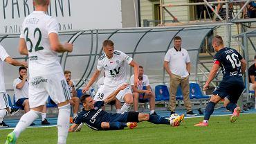 Mecz Paide - Śląsk Wrocław (1:2)