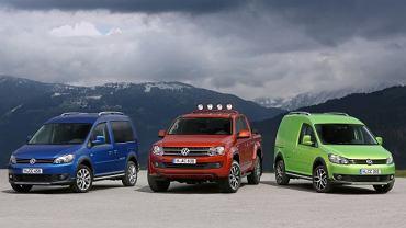 VW Cross Caddy - Pierwsza jazda