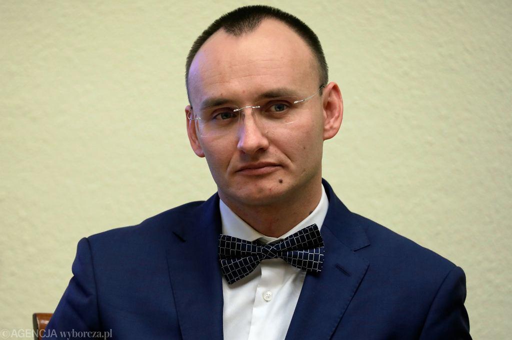 Mikołaj Pawlak - kandydat PiS na Rzecznika Praw Dziecka podczas 72. Posiedzenie Sejmu VIII Kadencji