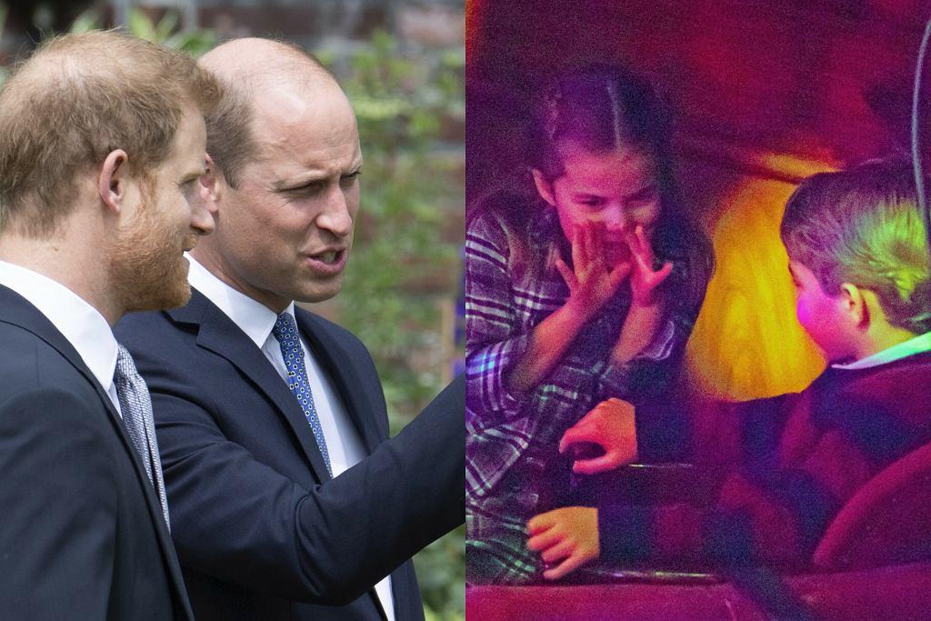 Książę Harry, książę William, dzieci pary książęcej Cambridge
