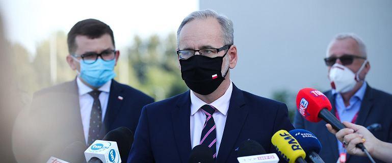 Minister zdrowia o tysiącu zakażeniach: Przyzwyczaimy się do tych poziomów