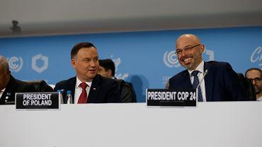 Andrzej Duda i Michał Kurtyka