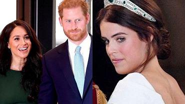 Meghan, Harry, księżniczka Eugenia