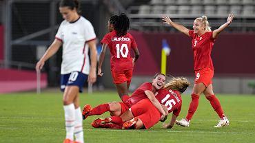 Niespodzianka w olimpijskim turnieju piłki nożnej. Kanadyjki ograły Amerykanki i zagrają o złoto
