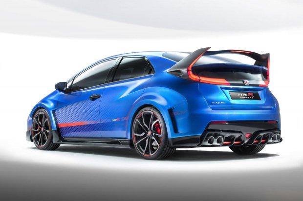 Salon Paryż 2014 | Honda Civic Type R | Na ulicach w przyszłym roku