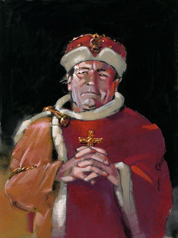 Zdjęcie numer 0 w galerii - 1050. rocznica chrztu Polski. Bez brody, z wąsem, albo z papierosem - różne wizerunki Mieszka I