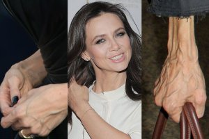 Jeśli chcesz poznać prawdziwy wiek kobiety, spójrz na jej dłonie - któż nie zna tego powiedzenia? Hollywoodzkie gwiazdy dążą do tego, by jak najdłużej zachować młody wygląd. Polskie artystki często nie chcą być gorsze. Ale może zdradzić je jeden szczegół. Gdy przyjrzeliśmy się dłoniom znanych kobiet, jedno stało się jasne - polskie gwiazdy nie są aż tak nastawione na zatrzymanie upływającego czasu jak te hollywoodzkie.