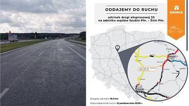 Kolejny odcinek S5 między Bydgoszczą a Poznaniem