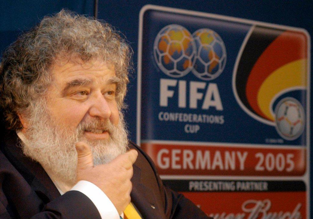 Chuck Blazer, były działacz FIFA, którego zeznania doprowadziły do aresztowania kilku członków FIFA i spowodowały, że Sepp Blatter podał się do dymisji.