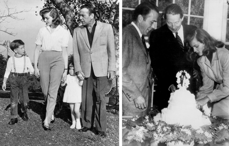 Bacall i Bogart wzięli ślub w 1945 roku (fot. domena publiczna)