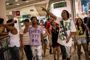 Bunt brazylijskich przedmieść. Młodzi imprezują w centrach handlowych