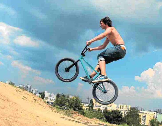 Górka Kazurka od lat przyciąga rowerzystów