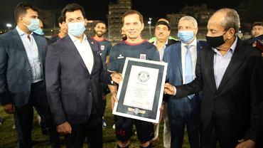 Ezzeldin Bahader najstarszym piłkarzem świata