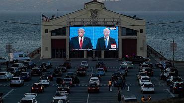 Debata prezydencka Donald Trump - Joe Biden