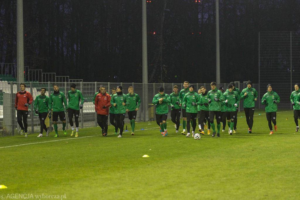 Trening piłkarzy Lechii