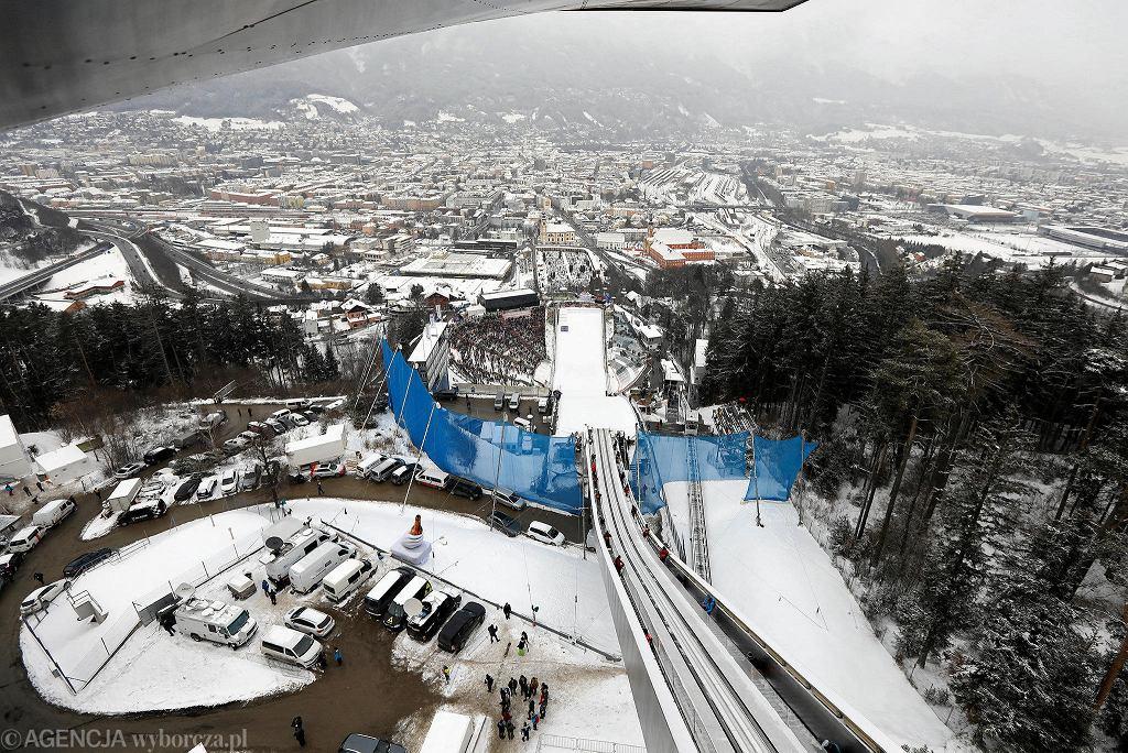 Zdjęcie numer 1 w galerii - Turniej Czterech Skoczni. Skocznia w Innsbrucku potrzebuje poprawek przed mistrzostwami świata