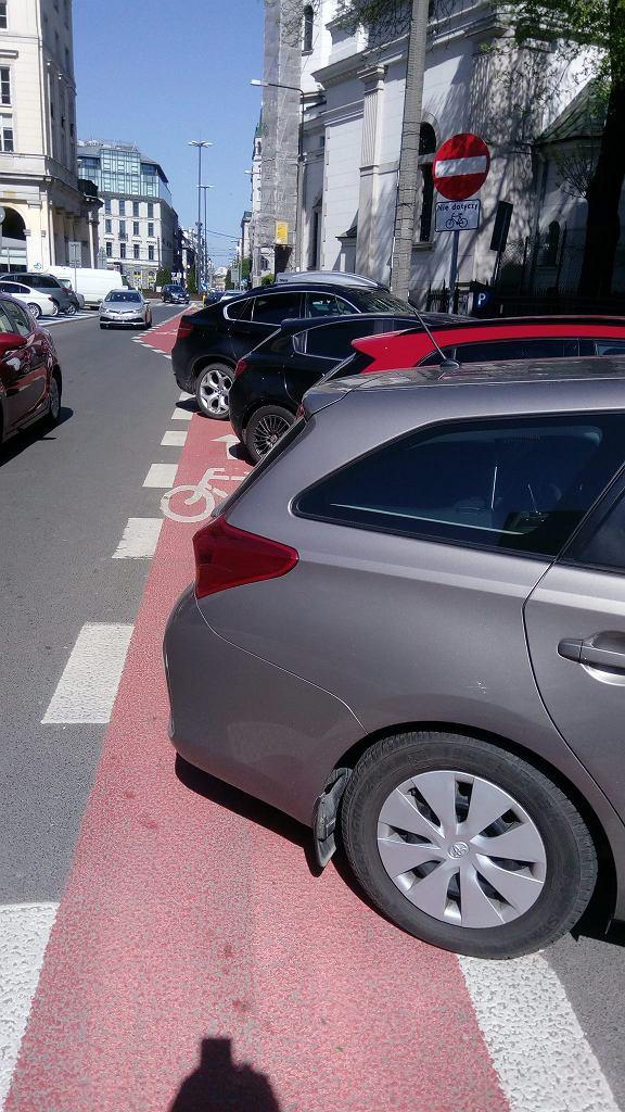 Parkowanie na Mokotowskiej