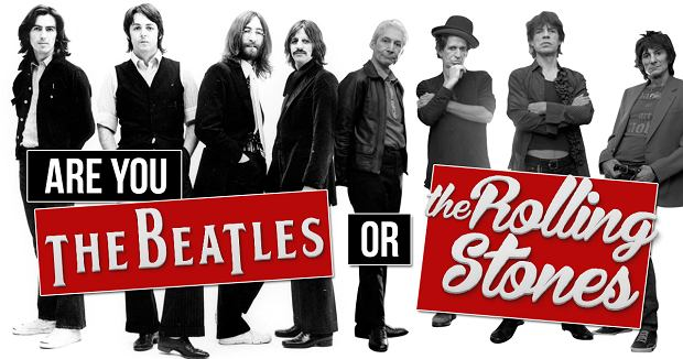 The Beatles czy The Rolling Stones?