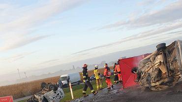 Wypadek w Grójcu