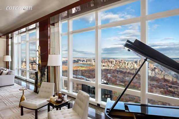 Nieruchomość na 80. piętrze Time Warner Center w Nowym Jorku.