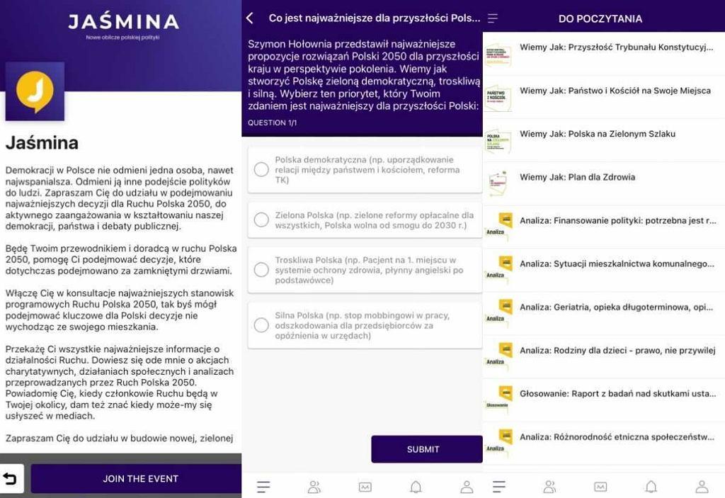 Aplikacja Jaśmina