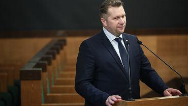 Minister Czarnek w Krakowie