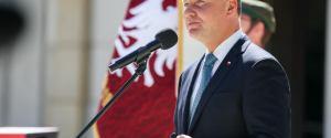 Andrzej Duda o braku spotkania z Angelą Merkel: Nie mam żalu, mogę wyrazić tylko zdumienie