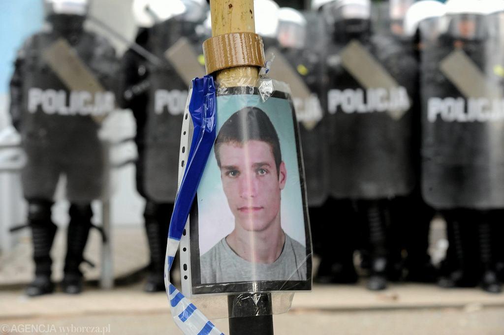 Igor Stachowiak zmarł po tym, jak został potraktowany paralizatorem przez policję