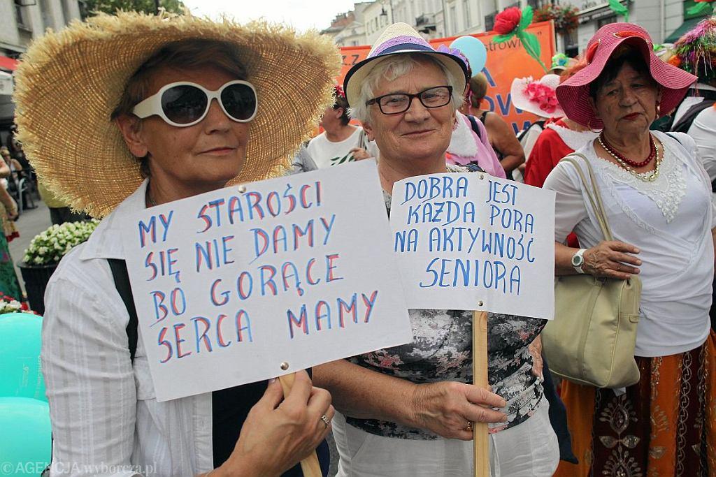 Parada Seniorów w Warszawie, lato 2018