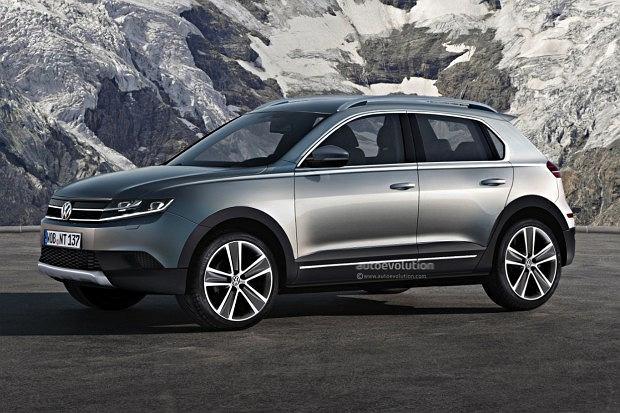 Tak może wyglądać planowany przez Volkswagena model