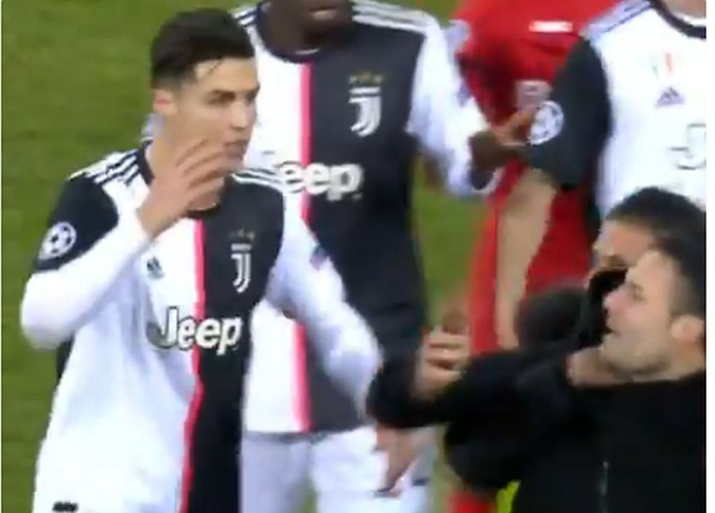 Cristiano Ronaldo był wściekły