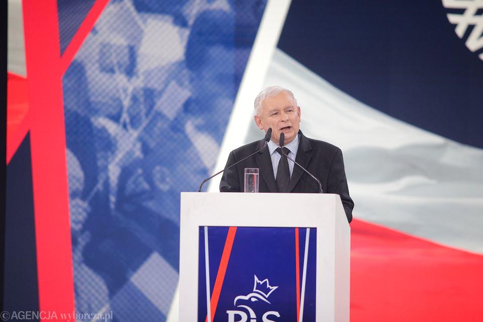 Jarosław Kaczyński, konwencja Prawa i Sprawiedliwości