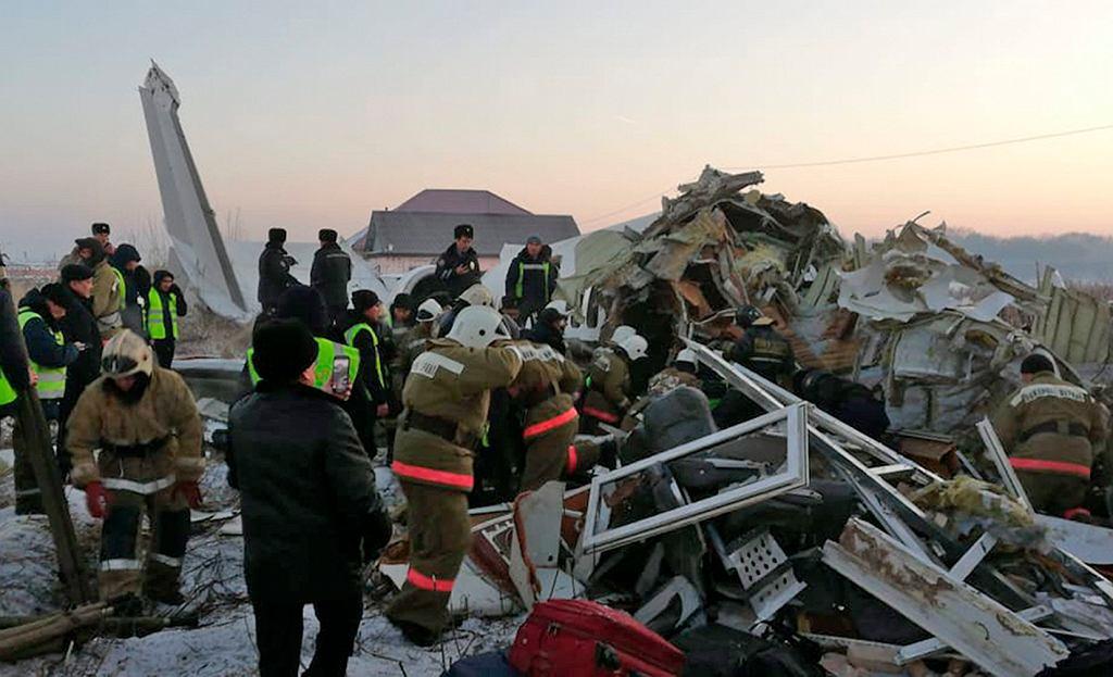 Katastrofa samolotu w Kazachstanie. Nie żyje 14 osób