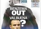 """L'Equipe"": Karim Benzema nie zagra na Euro 2016"