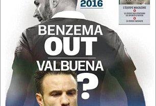 """""""Karim Benzema nie zagra na Euro 2016"""" - pisze """"L'Equipe"""""""