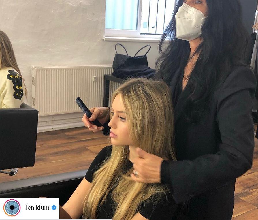 Leni Klum to córka supermodelki Heidi Klum. Pozuje wraz z mamą na okładce niemieckiego 'Vogue'a'