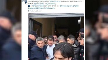 Aresztowanie bossa camorry Marco Di Lauro