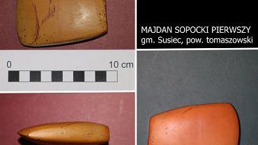 Zabytek znaleziony w Majdanie Sopockim Pierwszym
