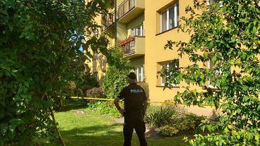 Interwencja policji w bloku w Tarnowie
