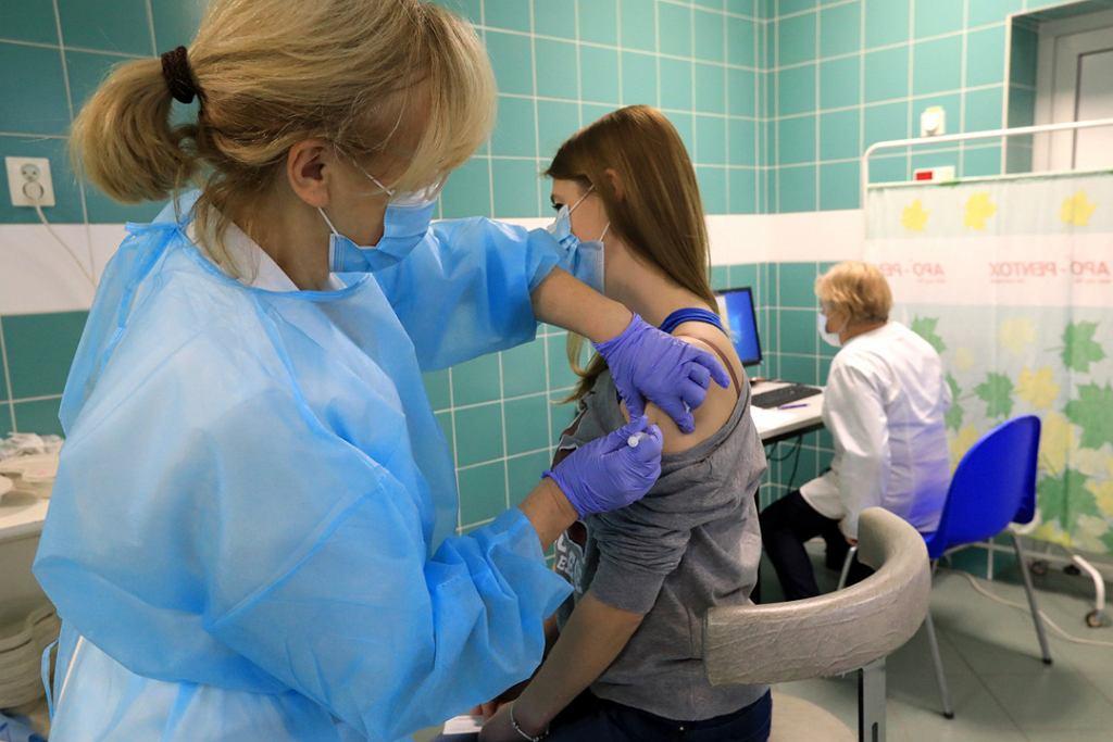 Szczepienia przeciw COVID-19 w Specjalistycznym Szpitalu Miejskim w Toruniu