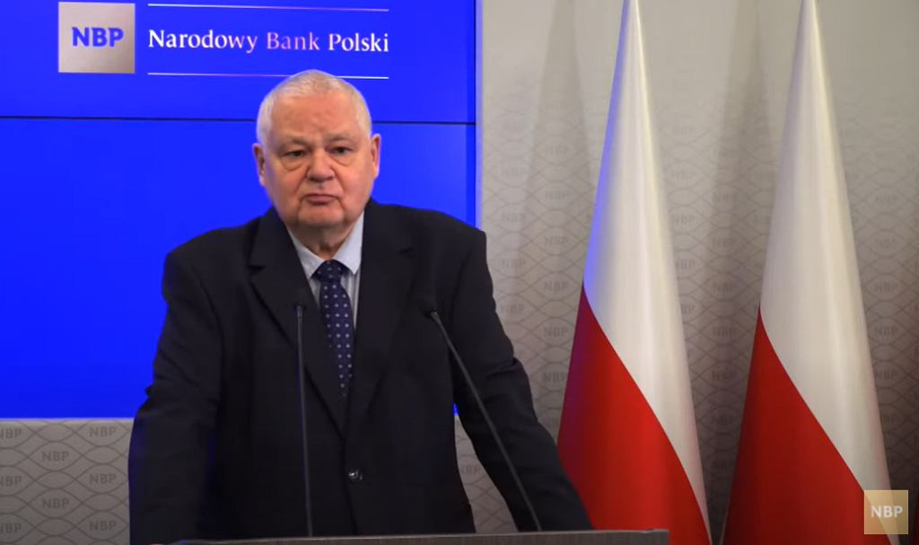 Adam Glapiński, prezes NBP.