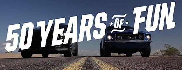 Ford Mustang 50 Years of Fun
