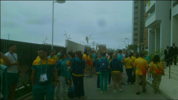 Rio 2016. Ogień w wiosce olimpijskiej. Ekipa Australii ewakuowana