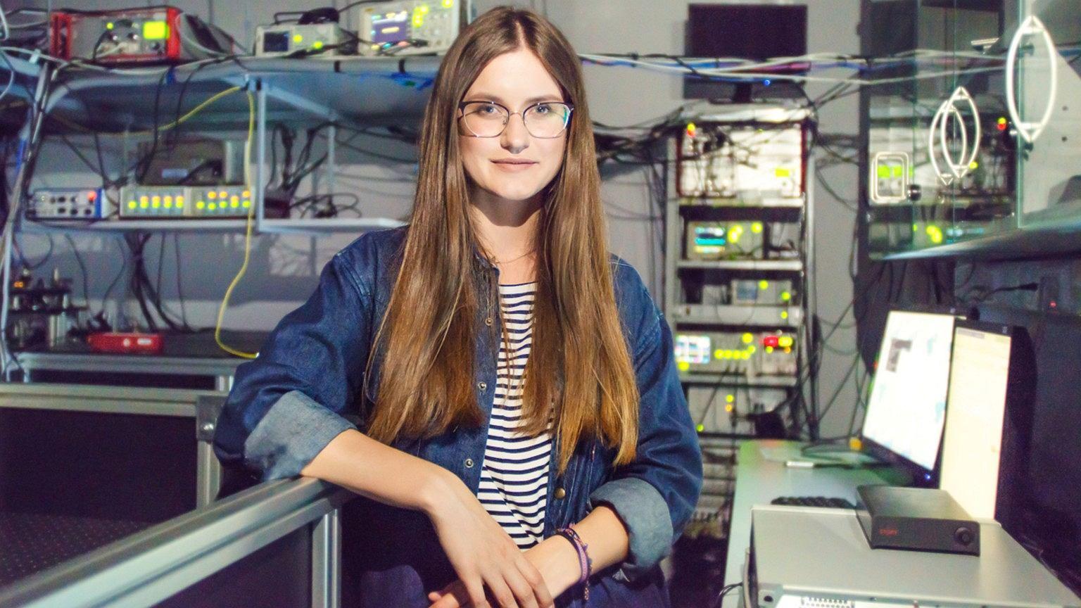 Beata Zjawin w laboratorium. Jej praca badawcza została doceniona przez polskie i zagraniczne środowiska naukowe